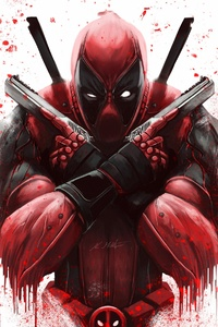 1280x2120 Dont Worry Deadpool 4k
