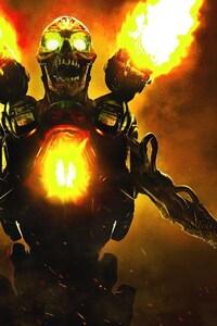 1242x2688 Doom 2016 Video Game