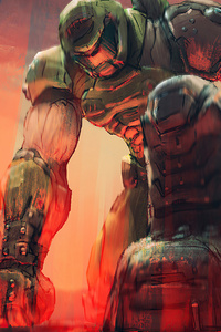 1080x1920 Doom Crossing Eternal Horizons