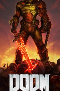 1080x2160 Doom Eternal 4k 2020