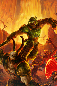 1080x2280 Doom Eternal 8k