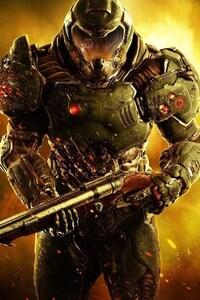 1242x2688 Doom Game HD
