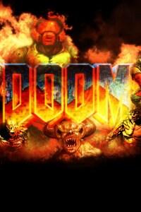 640x960 Doom Game PC