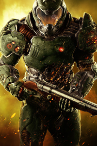 320x480 Doom Marine