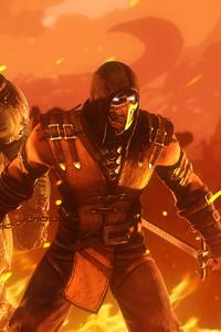 Doomslayer Vs Scorpion
