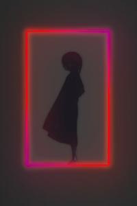 Door Shadow Anime Girl 4k