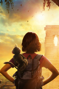 320x568 Dora And The Lost City Of Gold 2019 Poster