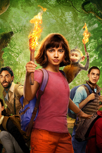 1280x2120 Dora The Explorer Movie 8k