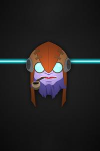 Dota 2 Game Character Art 4k