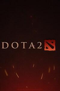 1440x2560 Dota 2 Game Logo