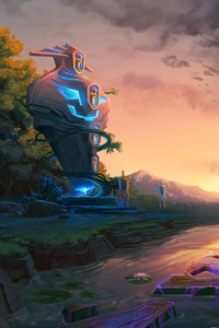 240x320 Dota 2 The Calm Before The Horn
