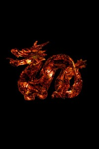 360x640 Dragon 3D