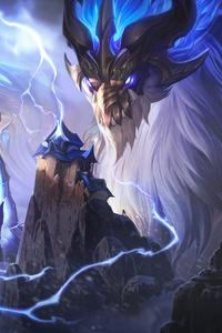 540x960 Dragon Aurelion Sol League Of Legends 8k