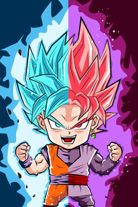 1242x2688 Dragon Ball Super Art 4k