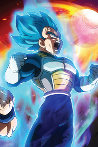 480x800 Dragon Ball Super Broly Movie 2019