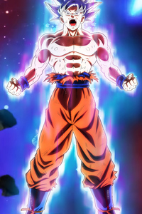 480x854 Dragon Ball Super Goku Migatte No Gokui 5k