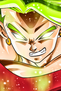 800x1280 Dragon Ball Super Legendary Super Saiyan 4k