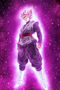 1242x2688 Dragon Ball Super Super Saiyan Rose