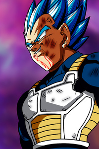 750x1334 Dragon Ball Super Vegeta
