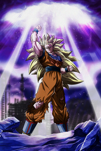 750x1334 Dragon Ball Z Goku 5k
