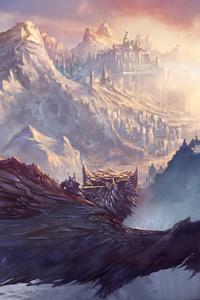 Dragon Fantasy Artwork 5k