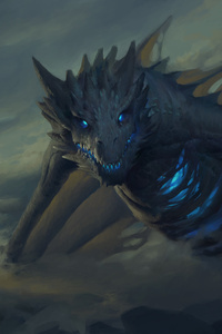 720x1280 Dragon Game Of Thrones Artwork