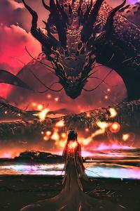 Dragon Goddess Artwork Fantasy