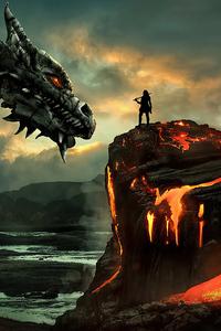 Dragon Lava Site 4k