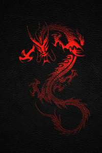 720x1280 Dragon Leather Background 4k
