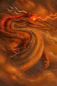Dragon Monster Storm 4k