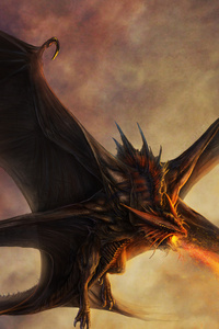 Dragon Painting Artwork
