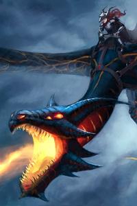 800x1280 Dragon Rider