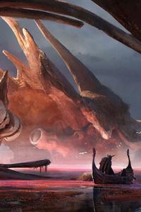 Dragon Shrine 4k