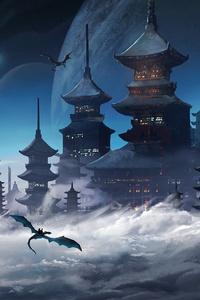 Dragon Temple 4k