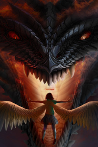 Dragon Vs Angel