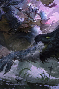 Dragon War 4k