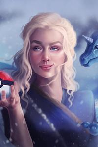 Dragons Daenerys With Pokeball