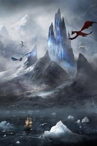 800x1280 Dragons Fantasy