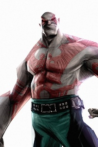 Drax The Destroyer Art