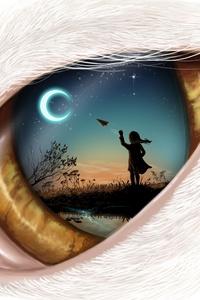 320x480 Dream In Eye