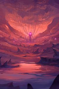 Dreamy Cave Digital Art