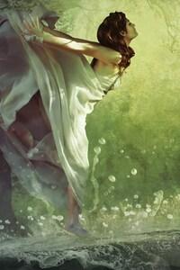 Dreamy Forest Girl Fantasy