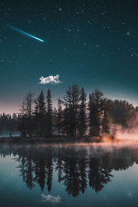 1080x2280 Dreamy Lake