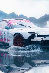 320x480 Drifting In Hills 4k
