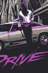 Drive Retrowave 4k