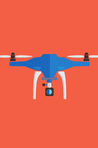 360x640 Drone Artwork 5k