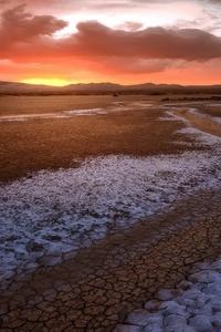 640x1136 Drought Desert Sky