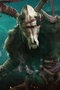 640x1136 Druid Assassins Creed Valhalla 5k