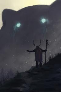 Druids Spirits Giant Thumbs Up