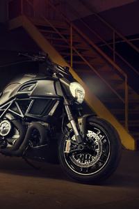 1080x2160 Ducati Diavel Carbon